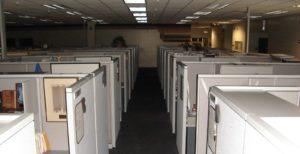 abandoned cubicle