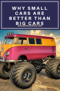 Small Cars and Better than Big Cars