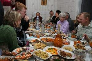 Ukrainian Feast Courtesy of Scott Merrill