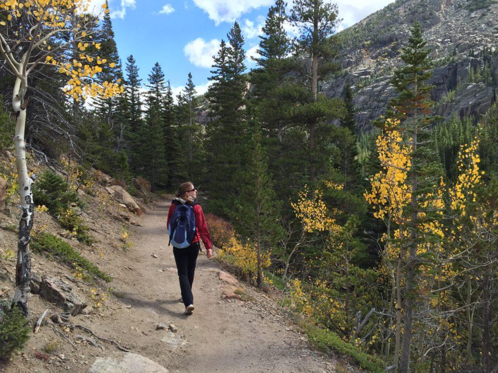 Hiking near Longmont