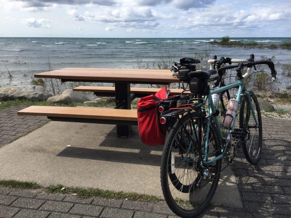 Lake Michigan Bicycling